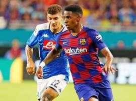 Barcelona e Napoli, onzes iniciais confirmados. FCBarcelona