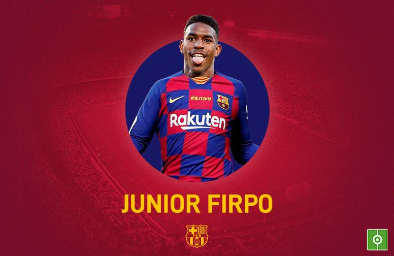 Junior Firpo ficha por el Barcelona. BeSoccer