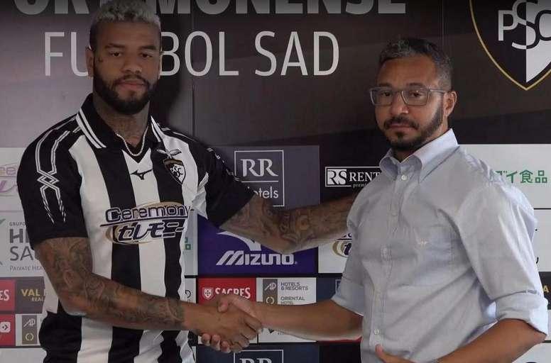 Junior Tavares llega al Portimonense. Captura/Portimonense