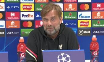 Jürgen Klopp reconoció la importancia de no ceder en un grupo tan exigente. Captura/LiverpoolFC