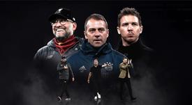 Klopp, Flick y Nagelsmann son los nominados. UEFA