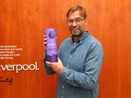 Klopp named Premier League coach of the month. Twitter/LFC