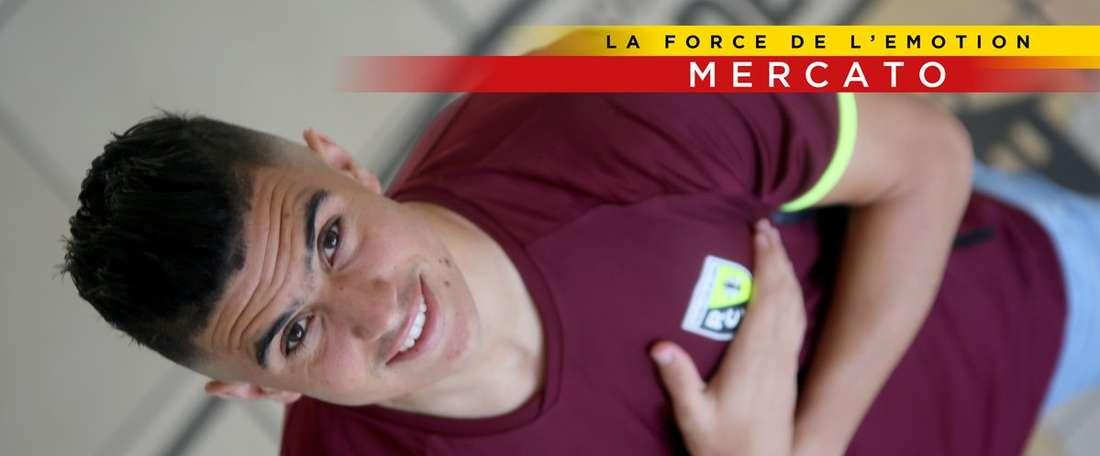 El Lens presenta a Karim Hafez. RCLens