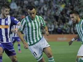 Kadir tuvo un paso más que discreto por el Betis. EFE/Archivo