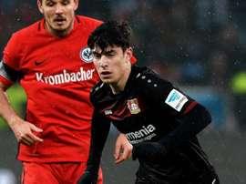 O Bayern adianta o Chelsea na briga por Havertz. EFE