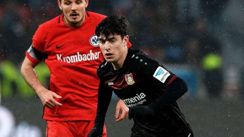 El Bayer niega una oferta del Chelsea por Havertz. EFE