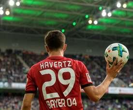 Havertz anotó el primer gol del partido. Bayer04