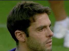 Les larmes d'émotion de Kaká dans son possible dernier match. Twitter