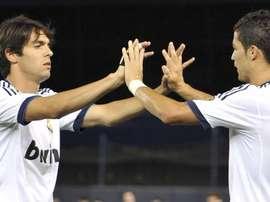 VIDÉO : le meilleur but de Kaka avec le Real Madrid. EFE