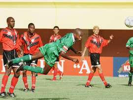 Kalusha Bwalya fue internacional con Zambia. AFP