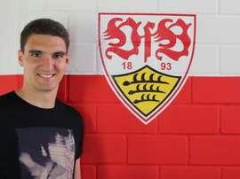 Kaminski, nuevo jugador del Stuttgart. Stuttgart