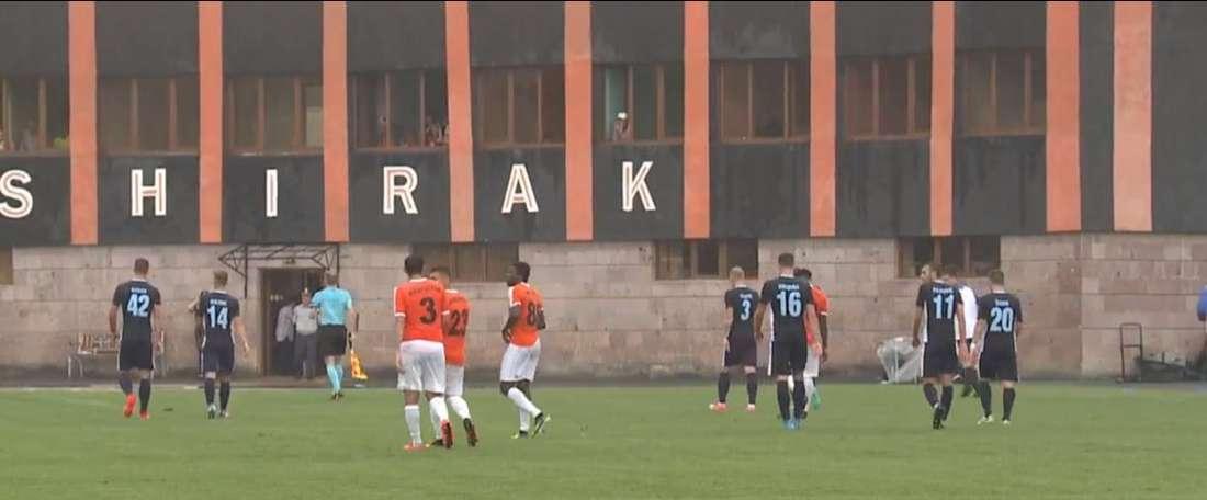 Kapic anotó con el Gorica el primer gol de la Europa League 17-18. Twitter