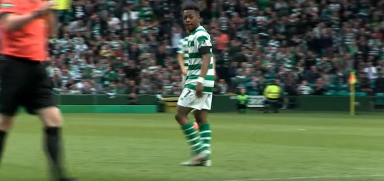 Karamoko impresiona a su corta edad. Captura/Youtube/CelticFC