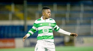 Karamoko Dembélé deixou sua primeira marca. Twitter/Celtic