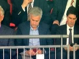 Mourinho y Karanka, juntos de nuevo. Captura