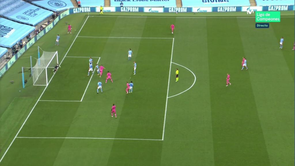 Benzema hizo el 1-1