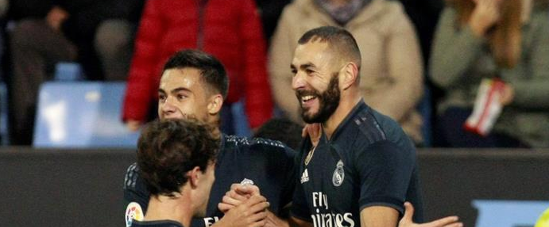 Benzema scored the pick of the goals. EFE
