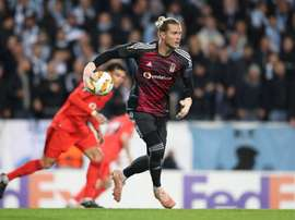 Karius joined Besiktas on loan from Liverpool this summer. AFP