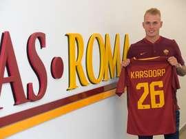 Karsdorp, nuevo jugador de la Roma. ASRoma