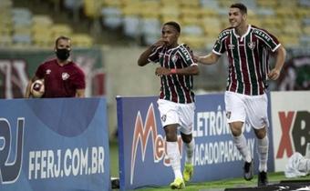 Kayky da Silva disfruta de un gran momento deportivo en Fluminense. AFP