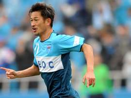 Kazuyoshi Miura still going strong with Yokohama FC. EFE/EPA