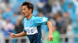 Kazuyoshi Miura sigue batiendo récords. EFE/EPA