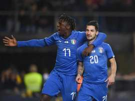 Italia sufrió para derrotar a los yanquis. Twitter/Vivo_Azzurro