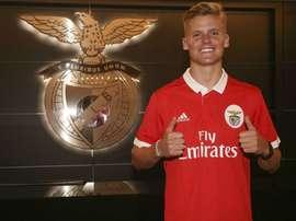 Aos 19 anos, Parks chega a um dos 'grandes' do futebol português. SLBenfica