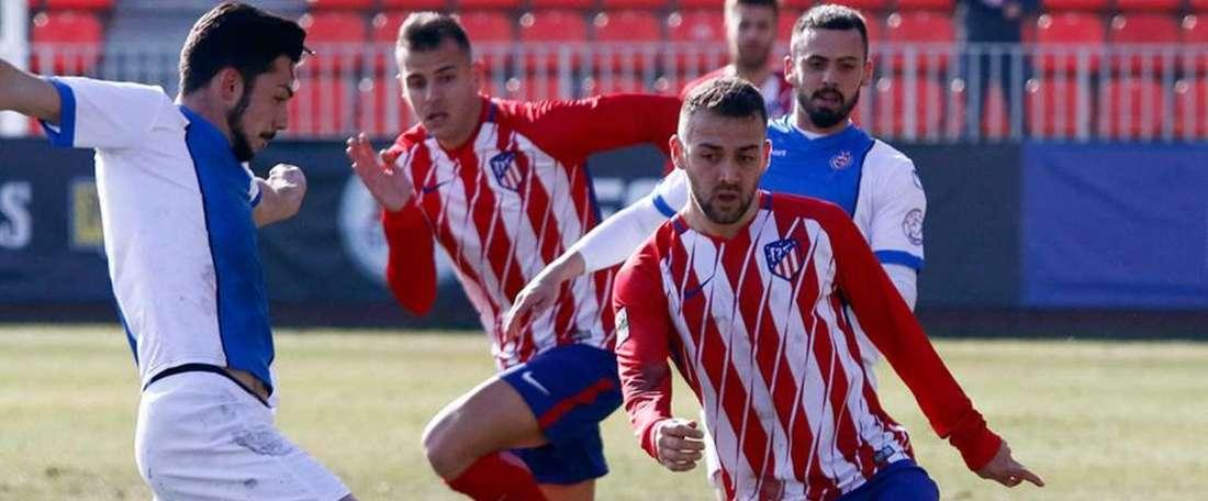 El Atlético de Madrid B refuerza su banda izquierda con Víctor Ruíz. EFE/Archivo