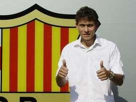 Keirrison segue dando voltas pelo mundo do futebol. FCBarcelona