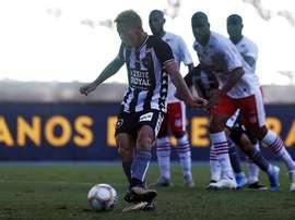 Le cinquième territoire conquis par Keisuke Honda. Twitter/Botafogo
