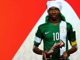 Kelechi Nwakali jugará en el Arsenal las próximas cinco temporadas. Telegraph