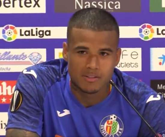 The Getafe footballer has something in common with Messi. GetafeCF