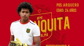 Kenner Leni se fue a Deportivo Cuenca. DeportivoCuenca