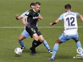 El Málaga perdió hace algunas jornadas contra el Lega. LaLiga