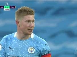 Manchester City de retour dans le Big Four. Capture/DAZN