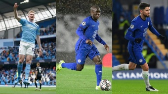 There are three nominees for Player of the Year. AFP