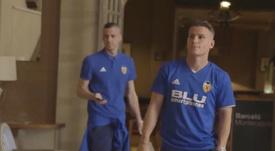 El Valencia fue sorprendido con un control antidopaje. Captura/ValenciaCFTV