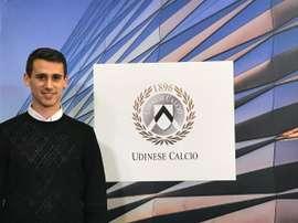 Kevin Lasagna ficha por el Udinese Calcio. UdineseCalcio