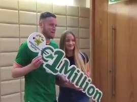 O'Connor ha ganado un millón de euros. Captura