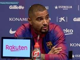 Kevin-Prince Boateng, contratação do Barcelona. Captura/FCBarcelona
