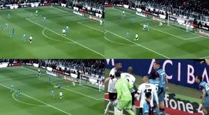 Boateng nous fait du Boateng : but et prise de têtes avec un rival. Capture/Ligtv
