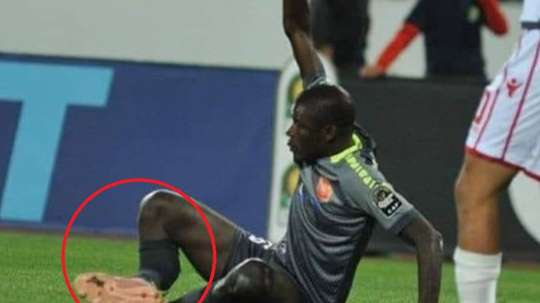Cauchemar pour le Sénégalais. Twitter @UsherKomugisha