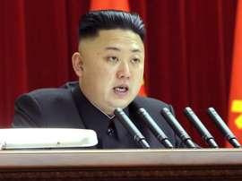 El jefe de Estado de Corea del Norte sueña con devolver al país al primer nivel futbolístico. EFE