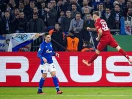 Kimmich marcó el gol del Bayern. Twitter/FCBayern