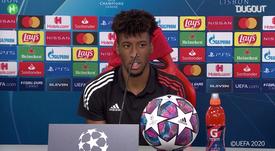Coman hizo el gol de la victoria para el Bayern. DUGOUT