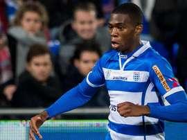Kingsley Ehizibue, del Zwolle holandés, autor del fallo del año. Twitter