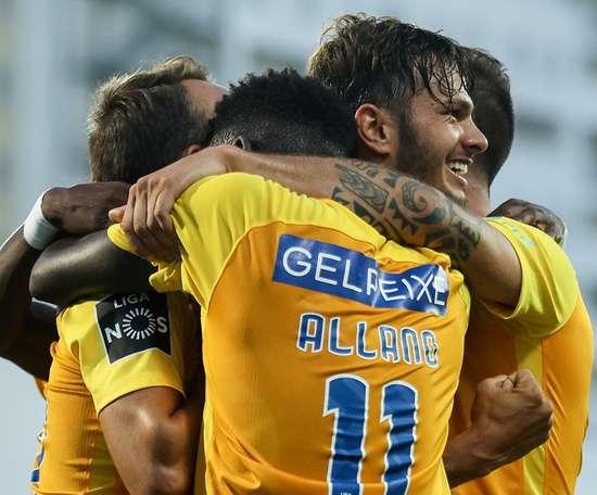 Allano foi autor de um dos gols. Twitter/Mais futebol