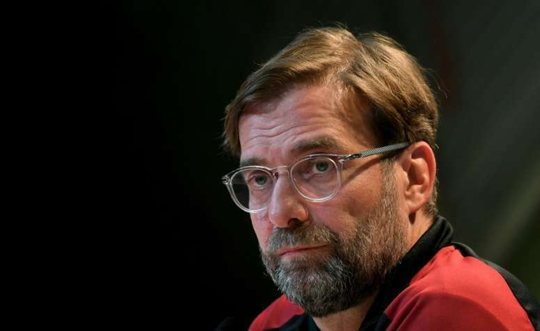 Klopp analyses the coming transfer market. AFP