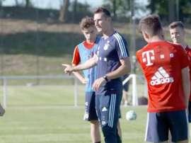 Klose pourrait évoluer au Bayern. Capture/FCBayernTV